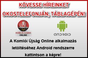 Komlói Újság Online applikáció