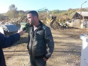 Szeitz Gábor a környezetvédelmi szempontokra hívta fel a figyelmet