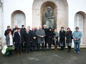 háborús áldozatok fala
