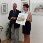 Akvarell-kiállítás nyílt a Muzeális Gyűjtemény épületében