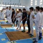 Nemzetközi vívóversenynek adott otthont Komló