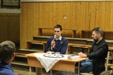 Komlói vívókkal találkozott Rédli András olimpiai bronzérmes párbajtőröző