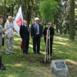 Emlékfát ültettek Mérei Emil tiszteletére