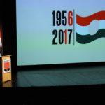 """""""1956 FORRADALMA MEGVÁLTOZTATTA EURÓPA TÖRTÉNELMÉT"""" – ÜNNEPI MEGEMLÉKEZÉS"""