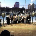 Forralt bor, tea és zsíros kenyér – civil karácsonyváró a Városház téren
