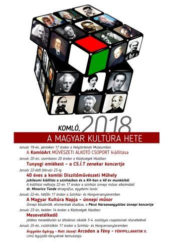 A Magyar Kultúra hete – programajánló