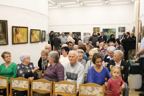 A KomlóArt kiállításával indult a Magyar Kultúra Hete programsora