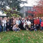 Gimnazistáink Eragnyban, francia barátaik Komlón
