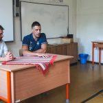 Vívás: olimpiai ezüstérmesünk, Boczkó Gábor látogatott Komlóra