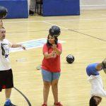 Megfelelő életmóddal boldog életet élhetünk – a Komlói Baptista Gyülekezet programja a sportközpontban