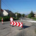 Megkezdődött a Munkácsy utca aszfaltozásának utolsó fázisa – útlezárásra számíthatunk
