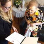 90 éves polgárát köszöntötte városunk