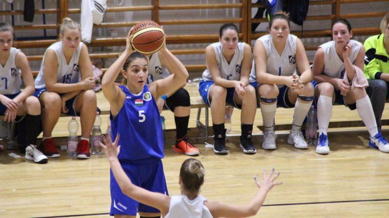 Női kosárlabda: nehézkes győzelem a regionális ligában