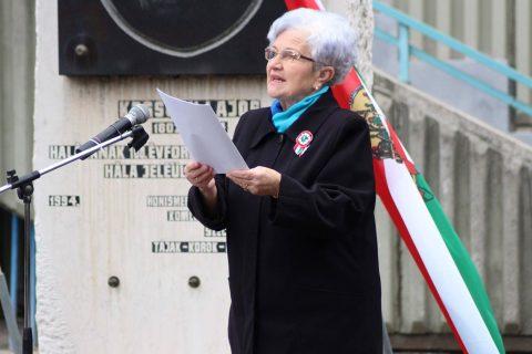 Megemlékezést tartottak a Kossuth-emlékhelynél