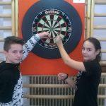 Darts: komlói elsőségek a megyei Diákolimpián