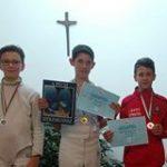 Szabó Benedek bronzérmes a katolikus iskolák versenyén