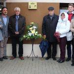 Emléktáblát avattak az egykori Bertaldó Órásműhely falán