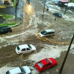 Hirtelen lezúduló csapadék okozott fennakadást Komlón