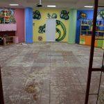 A gyermekkönyvtárba is betört a víz