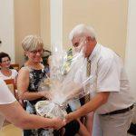 A nyugdíjas éveit kezdő Király Attilánét köszöntötték