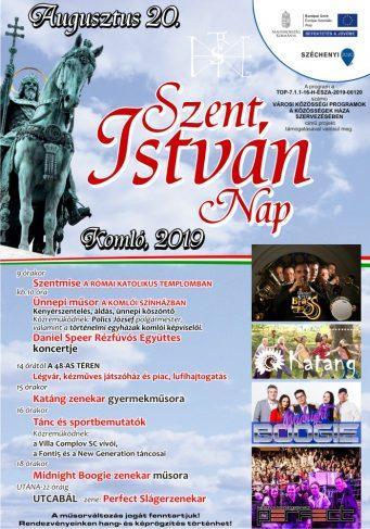 Szent István nap 2019 – programajánló