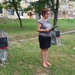 A roma holokausztra emlékeztek Komlón