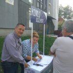 Választás 2019: Gyorsan megszerezte a szükséges aláírásokat a Komló Összeköt Egyesület