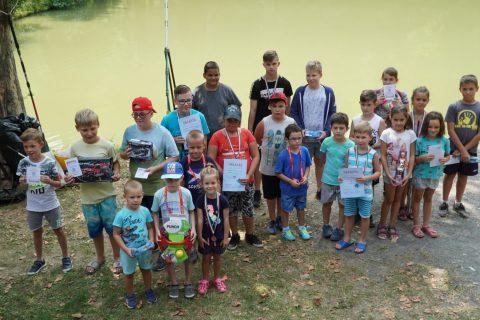 Gyermekhorgász verseny: temérdek ajándék lelt gazdára