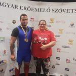 Komlói erőemelő fiatal sikere Sárbogárdon