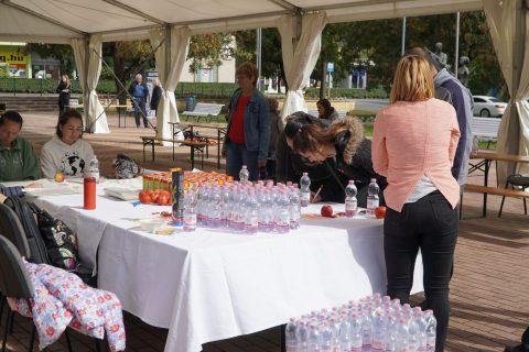 Családi egészség- és sportnapot tartottak a Városház téren