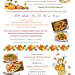 Ingyenes őszi szünidei étkeztetés