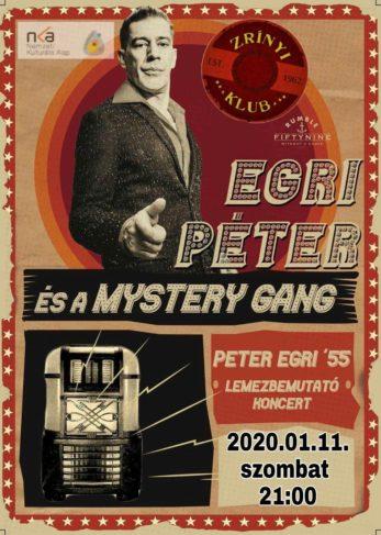 Programajánló – Egri Péter lemezbemutató koncert