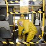Koronavírus: Már ózonnal is fertőtleníti járatait a Volánbusz