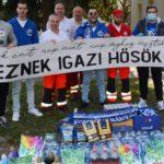 Szurkolók gyűjtöttek a mentőállomás számára