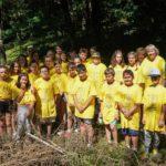 Komlói résztvevők a környezetvédelmi táborban