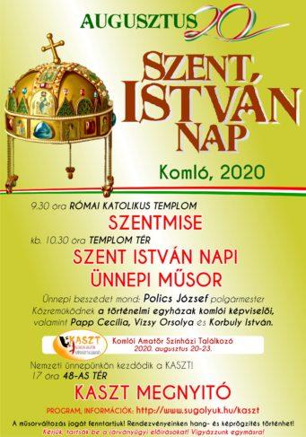 Szent István Nap programja