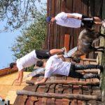 Hauni idén is számos helyen önkénteskedik Baranyában