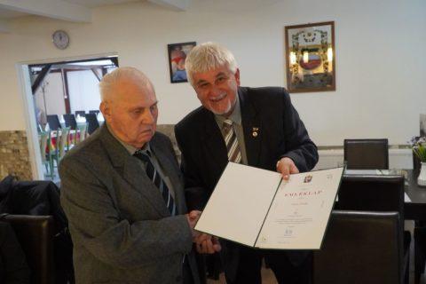 Városunk egykori főtanácsosát köszöntötték 90. születésnapján