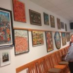 Orsós Teréz képzőművész festményeiből nyílt kiállítás